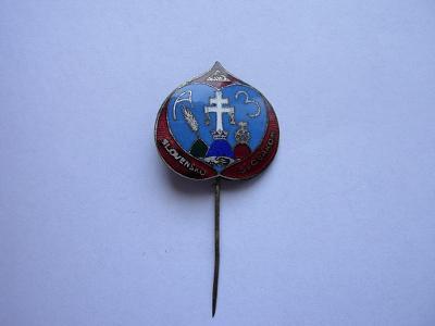 Odznak -  Slovensko - Slovákom ( Slovenský štát )
