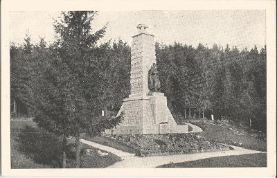 VÝHLEDY - pomník J. Š. Baara - Chodsko - Domažlice