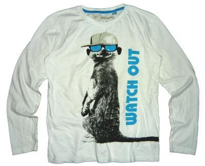 Chlapecké tričko s motivem, vel. 11 - 12 let
