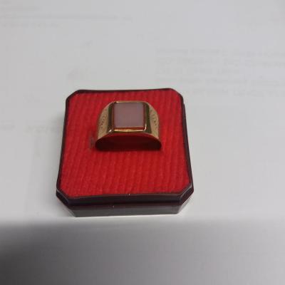 Zlatý prsten 580/14 kar 4,42 g, punc Rakousko-Uhersko