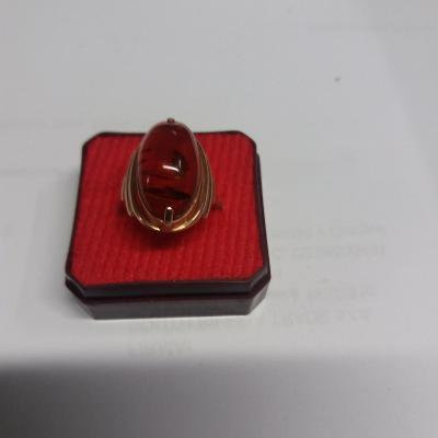 Zlatý prsten Au  583  , 5,43 g, punc SSSR