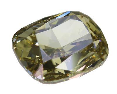 100% Přírodní diamant 1,01ct, VS2, Fancy Yellow + CERTIFIKÁT ČGL