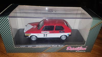 DETAIL CARS VOLKSWAGEN GOLF RALLYE MONTE-CARLO 1980 van LENNEP 1/43