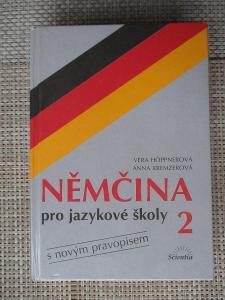 Hoppnerová Věra - Němčina pro jazykové školy 2 s novým pravopisem