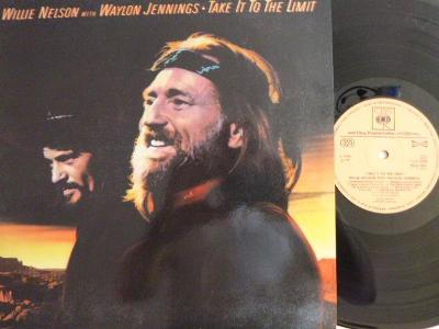 WILLIE NELSON WITH WAYLON JENNINGS Take It To The Limit CBS SUPRAPHON