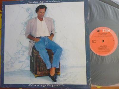 HIT LP JULIO IGLESIAS - Starry NightCBS - DIREKT 1990 Albert Hammond