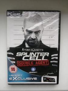 Tom Clancy's Splinter Cell Double Agent NEROZBALENO PC hra
