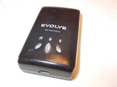 GPS bluetooth přijímač externí - Evolve goTraxx