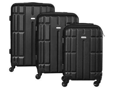 Sada 3 Cestovních kufrů + dárek
