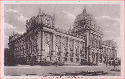Hannover * Provinzial Museum, muzeum, část města * Německo * Z2308