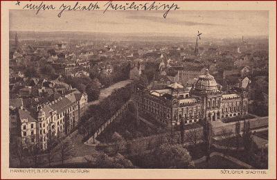 Hannover * pohled na jižní část města * Německo * Z2441