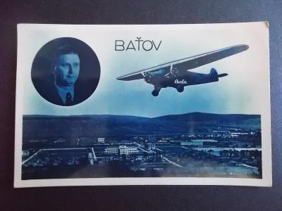 Zlín Baťov Otrokovice Protektorát Antonín Baťa letadlo hornoplošník