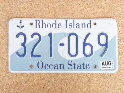 USA SPZ, Rhode Island originál...