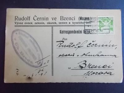Hodonín Kyjov Bzenec Bisenz  lístek Uherský Brod obchod okurky zelí
