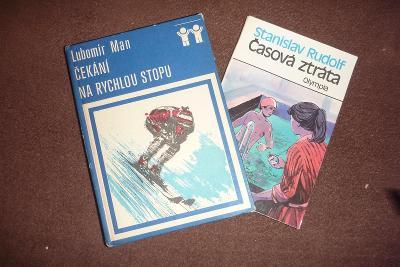 Dvě dětské knihy se sportovní tematikou