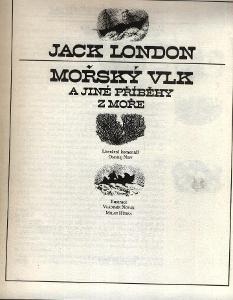 Jack London - MOŘSKÝ VLK a jiné příbky z moře