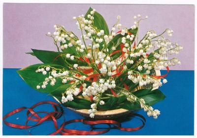 Květina , konvalinky