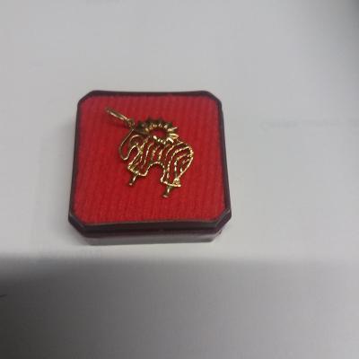 Zlatý přívěsek beran 585/14 kar kar 1,74 g