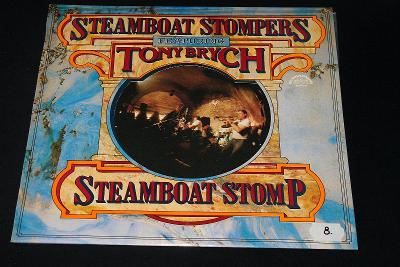 LP - Steamboat Stompers Featuring Tony Brych - Steamboat Stom   (d12)