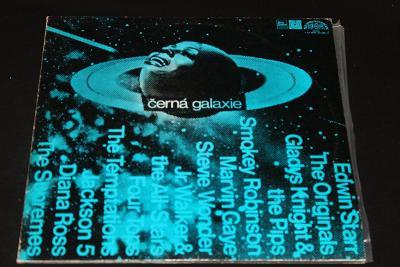 2LP - Various Artists - Černá Galaxie (d23)