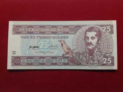 25 gulden Curacao - Matej Gábriš, stav N