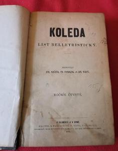 List belletristický Koleda/1879 č. 1-34...(9763)