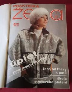Časopis - Praktická žena 1987-1988...(9776)