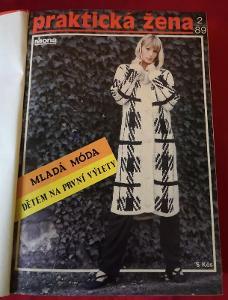 Svázaný časopis/Praktická žena 1989-1990...(9801)