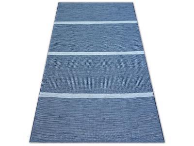 KOBEREC COLOR 80x150 cm PÁSY modrý #B612