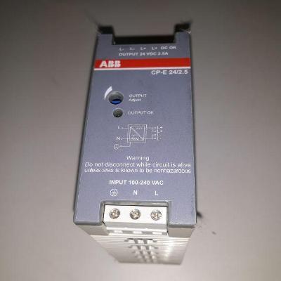 Napájecí zdroj na DIN lištu ABB, typ CP-E 24/2.5
