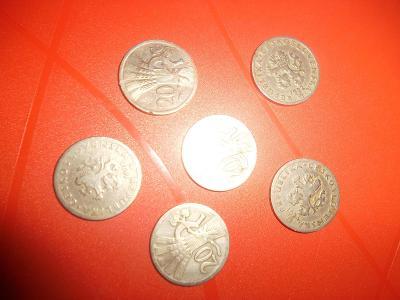 Staré mince z oběhu.