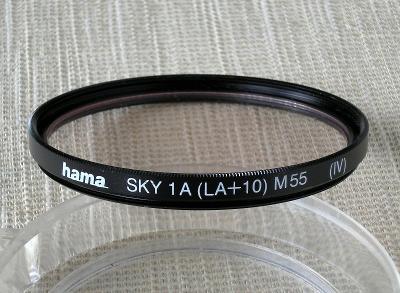 FILTR 1A SKYLIGHT, (55 mm) + POUZDRO