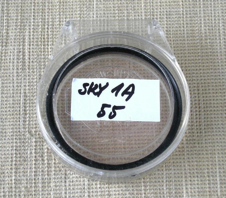 FILTR 1A SKYLIGHT, (55 mm) + POUZDRO - Foto