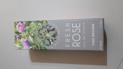 Yves Rocher kosmetika - Toaletní voda Růže 100 ml NOVÁ! ORIGINÁL!