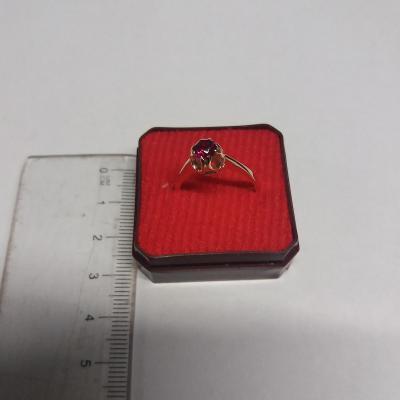 Zlatý prsten Au  585   2,95 g