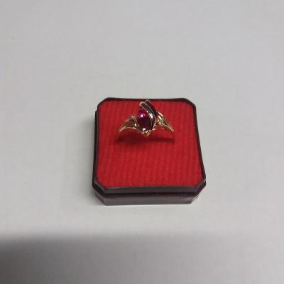 Zlatý prsten Au 585/ 14 kar  2,64 g
