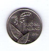 Finsko 10 pennia 1991 M