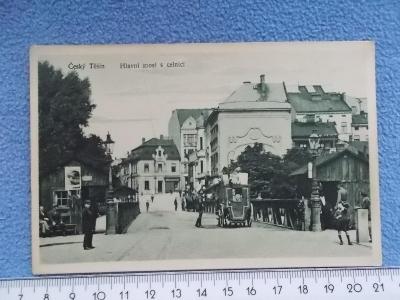 Karviná Český Těšín Teschen Hranice ČSR Polsko celní úřad stráž 1927