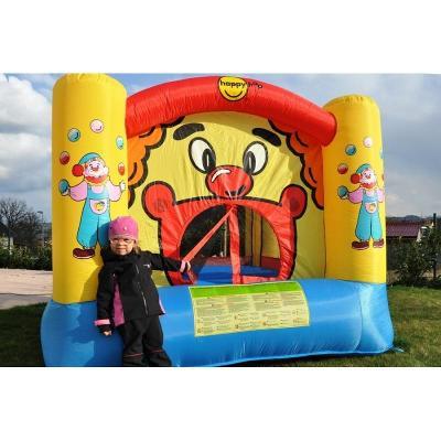 Happy Hop Skákací hrad klaun s trampolínou. NOVÝ