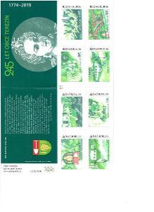 Vlastní známky známkový sešitek VZ ZS 0096  245 let obce  Terezín TP 4