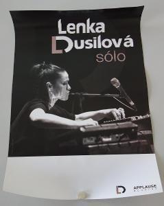 Plakát Lenka Dusilová sólo - komplet 14 ks
