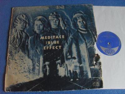 LP The Blue Effect Meditace 1970