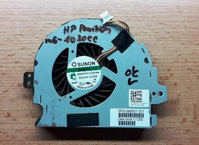 Ventilátor chlazení HP Pavilion m6 - 1030ec
