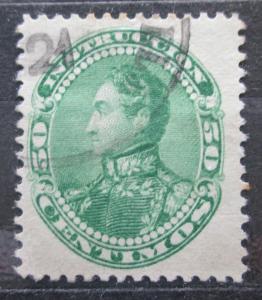 Venezuela 1901 Simón Bolívar, kolkovací Mi# 84 0240