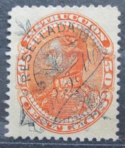 Venezuela 1900 Simón Bolívar, kolkovací přetisk Mi# 67 0240