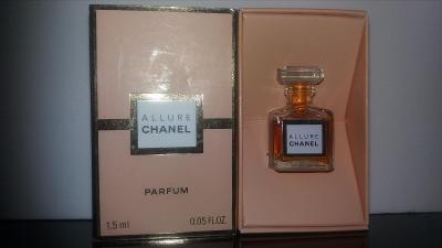Chanel Allure čistý parfém 1,5 ml - rarita, vintage