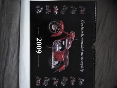 Kalendář Jawa Čz Stadion 2009