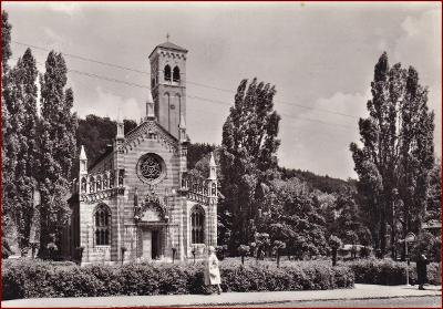 Dubí * pohled na kostel, část města * Teplice * V210