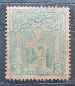 Venezuela 1914 Simón Bolívar, kolkovací Mi# 113 0241