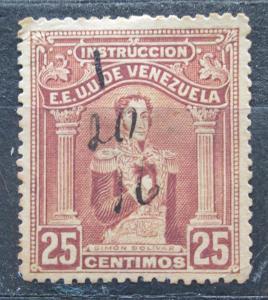 Venezuela 1914 Simón Bolívar, kolkovací Mi# 109 0241